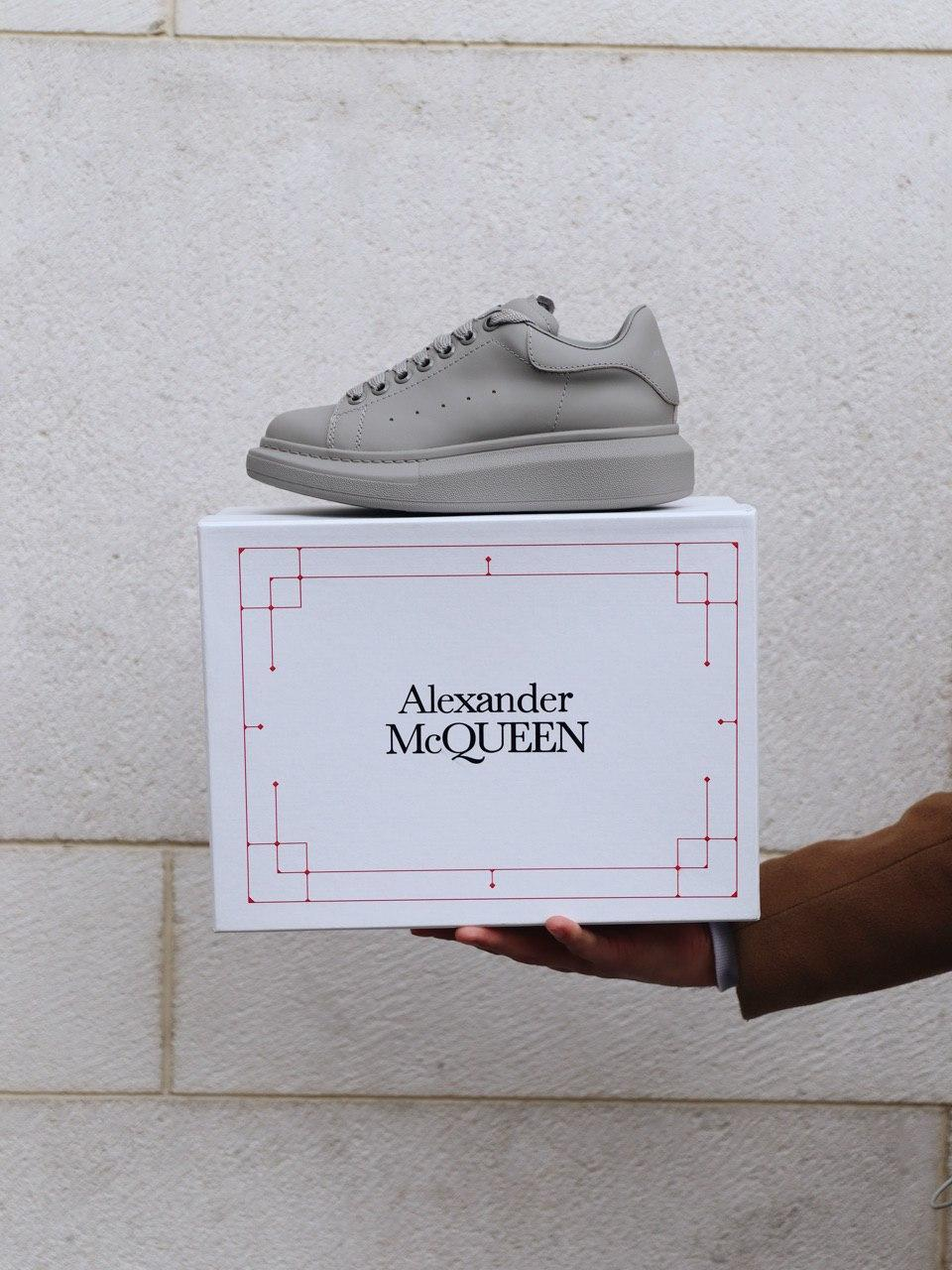 🔥 Кеды женские Alexander McQueen Light Grey Matte да, 38