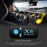 Беспроводной адаптер Bluetooth-приемник X6, фото 7