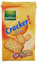 Печенье крекер соленый классический Crackers Classic 3x100g Gullon Испания