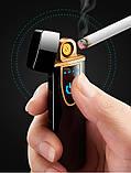 Зажигалка USB GK-601, фото 5