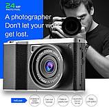 Цифровая камера CamKing X9 1080P 4.0Inch 24MP, фото 8