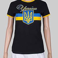 Патріотична футболка жіноча Україна, фото 1