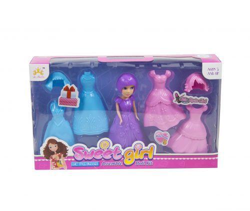 """Набор """"Sweet girl: кукла с костюмами"""" 2025"""