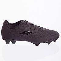 Бутсы футбольная обувь 180306-3 ALL BLACK размер 40-45 (TPU, черный), фото 1