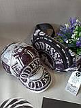 Набор бейсболка+бананка Odessa 56-58 Белая с черным (0000236), фото 2