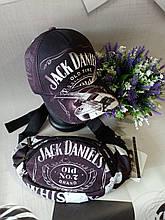 Набор бейсболка+бананка Jack Daniels 56-58 Черная (0000239)