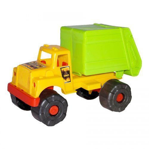 Грузовик мусоровоз салатовый 5189