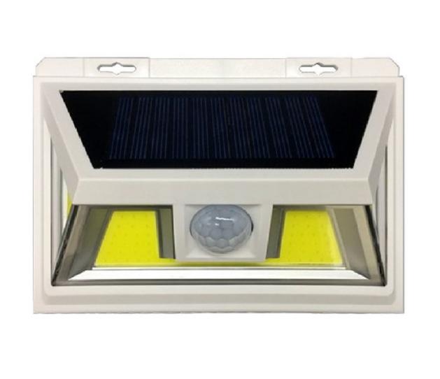 VARGO 10W COB LED настенный светильник на солнечной батарее белый (VS-701331)