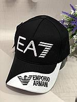 Бейсболка Emporio Armani 56-58 Черный (0000317)