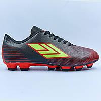 Бутсы футбольная обувь подростковая Y-1-37-41 размер 37-41 цвета в ассортименте, фото 1