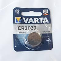Дискова батарейка VARTA Cell Lithium 3V CR2032 (230mAh)