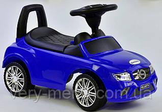 Машина-толокар Joy с музыкальным рулем (синий цвет)