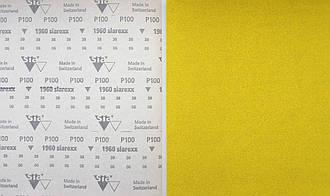 Наждачная бумага в листах SIA, Швейцария, 23Х28 см для шлифовки и удаления лакокрасочных покрытий. Зерно: Р100