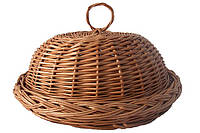 Плетеная хлебница из лозы, фото 1