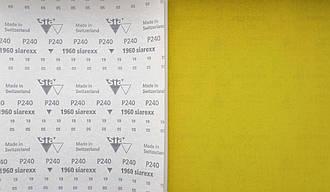 Наждачная бумага в листах SIA, Швейцария, 23Х28 см для шлифовки и удаления лакокрасочных покрытий. Зерно: Р240