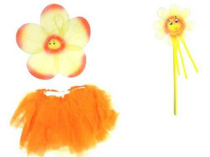 Набор феи для девочек (оранжевый) 0900-106_2012