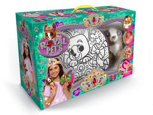 """Набор """"ROYAL PET'S"""", сумочка-раскраска + игрушка """"Собачка"""" RP-01-07U"""