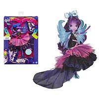 Кукла Май литл пони Девушки Эквестрии супер-модница Искорка Твайлайт Спаркл. Оригинал от Hasbro