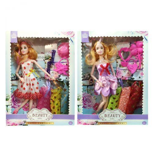 "Кукла ""Beauty Girl"" с платьями в коробке 1798644_YY101"