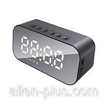 Акустическая колонка HAVIT HV-M3 bluetooth с часами/будильником/термометром, black