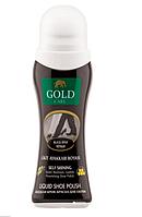 Жидкая крем-краска для обуви Gold Care черная