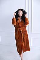 Женский махровый халат.  Турция
