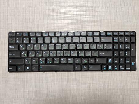 Клавиатура для ноутбука ASUS A52 K52 X54 N53 N61 N73 N90 P53 X54 X55 X61 rus, black K52 ver, фото 2