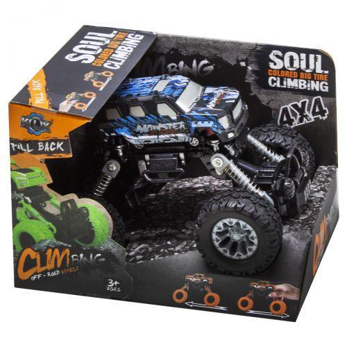 """Джип """"Climbing Soul 4x4"""" (черный) KLX500-424A"""