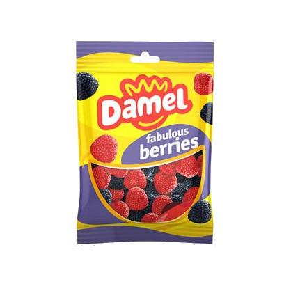 Жуйки Damel berries ягоди, 1 кг 12 шт/ящ