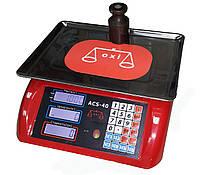 Весы электронные торговые OXI ACS-40 кг