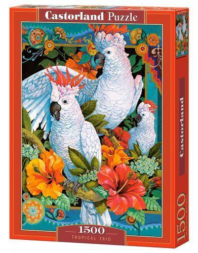 """Пазлы """"Тропическое трио"""", 1500 элементов С-151714"""