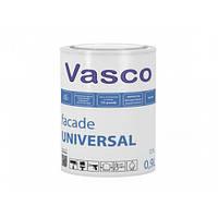 Атмосферостойкая латексная матовая фасадная краска Vasco Facade UNIVERSAL База А