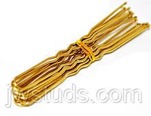 Набор золотистых шпилек для волос 30 шт. (7 см)