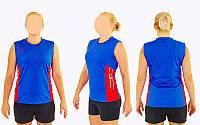 Форма волейбольная женская 6503W (полиэстер, р-р S-3XL-140-175см (40-68кг), цвета в ассортименте)