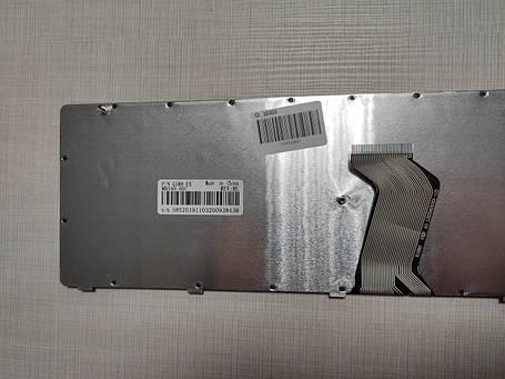 Клавиатура для ноутбука LENOVO (G580, G585, N580, N585, Z580, Z585) rus, black, black frame, фото 2