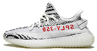 Мужские кроссовки Adidas Yeezy 350 Boost V2 'Zebra'