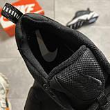 Женские кроссовки Nike M2K Tekno Essential, Женские Найк М2К Текно Черные Кожаные, фото 5