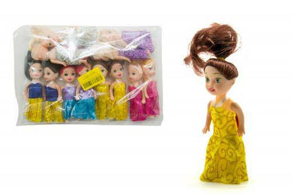Кукла маленькая (12 штук) Л-00013