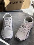 Кроссовки  женские на платформе белые, фото 7