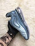 Женские кроссовки Nike Air Max 720 Light Grey, Женские Найк Аир Макс 720 Серые, фото 7