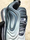 Женские кроссовки Nike Air Max 720 Light Grey, Женские Найк Аир Макс 720 Серые, фото 6