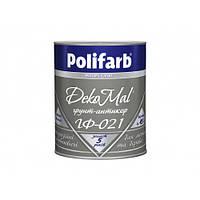Антикоррозионная алкидная грунтовка для металла DekoMal ГФ-021 Polifarb матовая белая