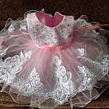 """Нарядное платье на 1-2 годика """"Кружево"""", фото 5"""
