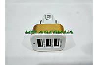 Автомобильное зарядное устройство Car Charger 3в1 от прикуривателя, 3 USB (1,1/2,1/3,1A), адаптер