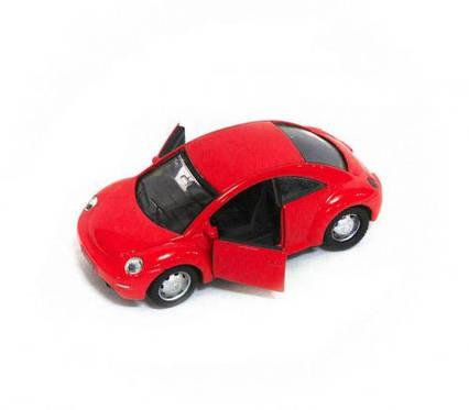"""Машина металлическая """"Volkswagen Beetle"""" (красная) XG1888P"""