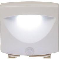 Универсальная подсветка с датчиком движения Mighty Light от батареек АА, размер 7х6х4см, пластик, Светодиодные светильники