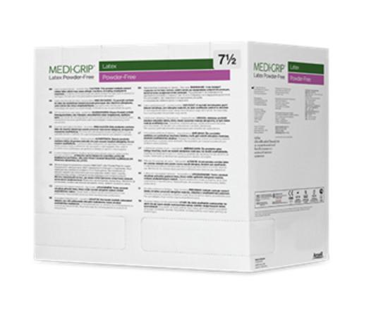 Рукавички Medi-Grip Latex PF латексні хірургічні стерильні неприпудрені р. 8,5