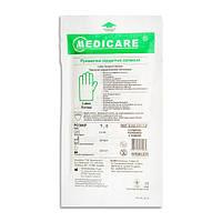 Перчатки Medicare латексные хирургические стерильные припудренные р.7,0