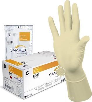 Перчатки GAMMEX Powder-Free with AMT латекс. хирург. стер. антимикробные неприпудренные р.7,5