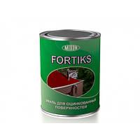 Краска-грунт акриловая Mixon Fortiks для оцинкованных поверхностей белая